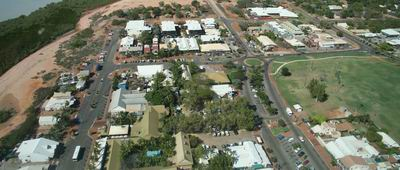 Broome Aerial view