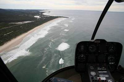 approaching Tweed Heads