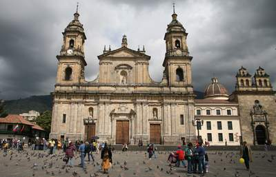 Cathedral on Plaza Bolivar