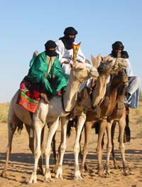 Tuaregs & their camels