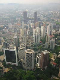 View from the KL Tower