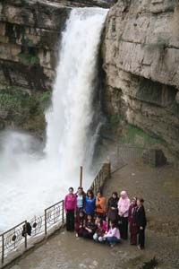 Gali Ali Beg waterfall
