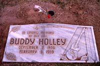 Buddy Holley's (Holly's) grave