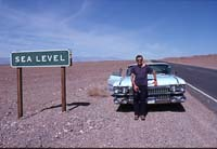 sea level in Death Valley