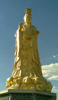 Queen of Heaven statue