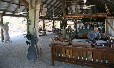 Camp main room view