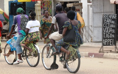 Kisangani bicycles