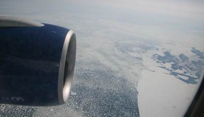 Northern Canada from a 777