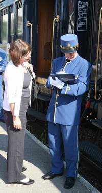 Boarding the Orient Express