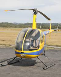 R22 Beta II helicopter