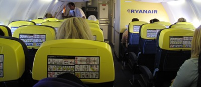 Ryanair from Sweden