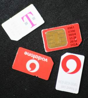 My SIM card collection