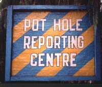 Pot hole reporting - Thimphu, Bhutan
