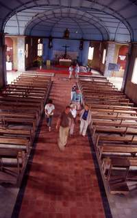 St Anne Mission church, Gabon