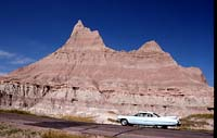 Caddy in the Badlands