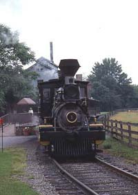 Greenfield Village steam train